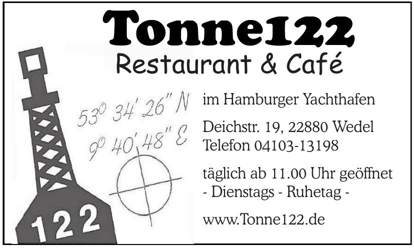 Restaurant & Café Tonne