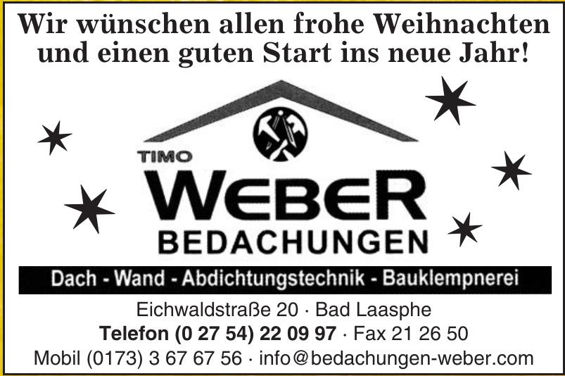 Timo Weber Bedachungen