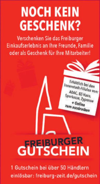 Freiburger Gutschein