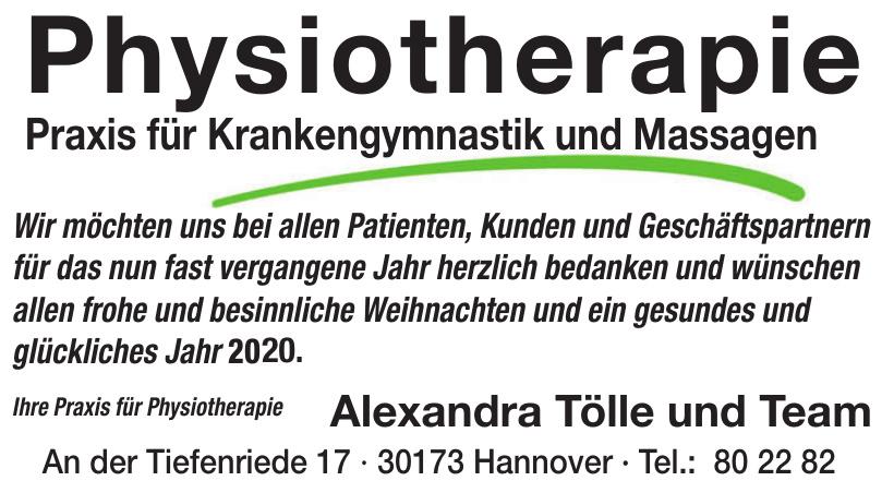 Alexandra Tölle und Team