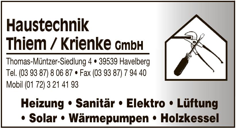Haustechnik Thiem / Krienke GmbH