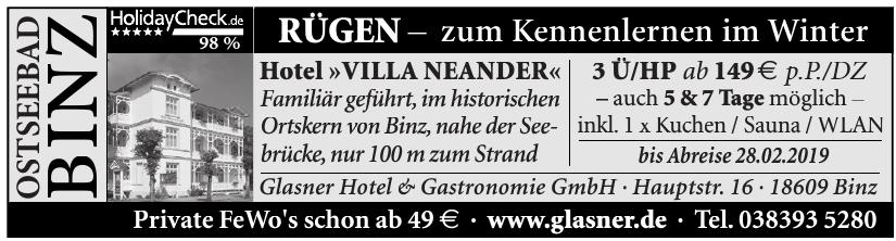 Glasner Hotel & Gastronomie GmbH