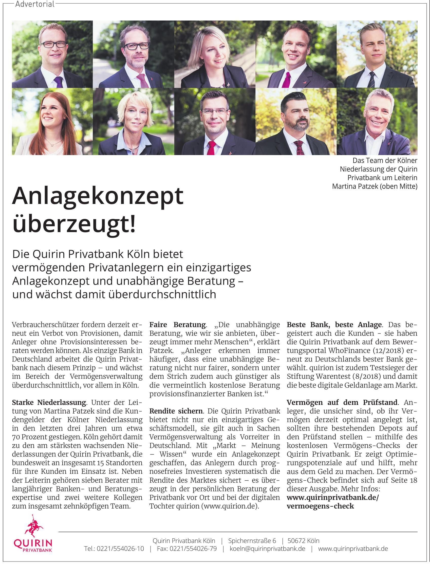 Quirin Privatbank AG