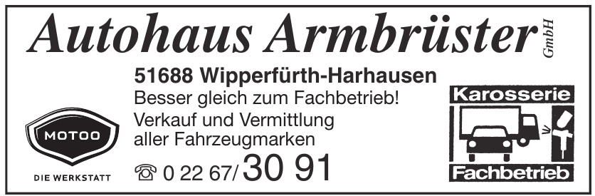 Autohaus Armbrüster GmbH