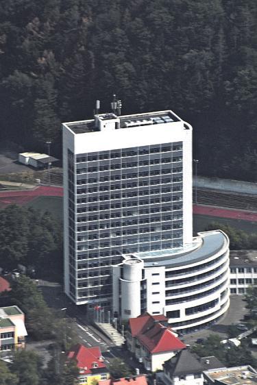 Das Kreishaus aus der Luft Bild: Beatrix Schmittgen
