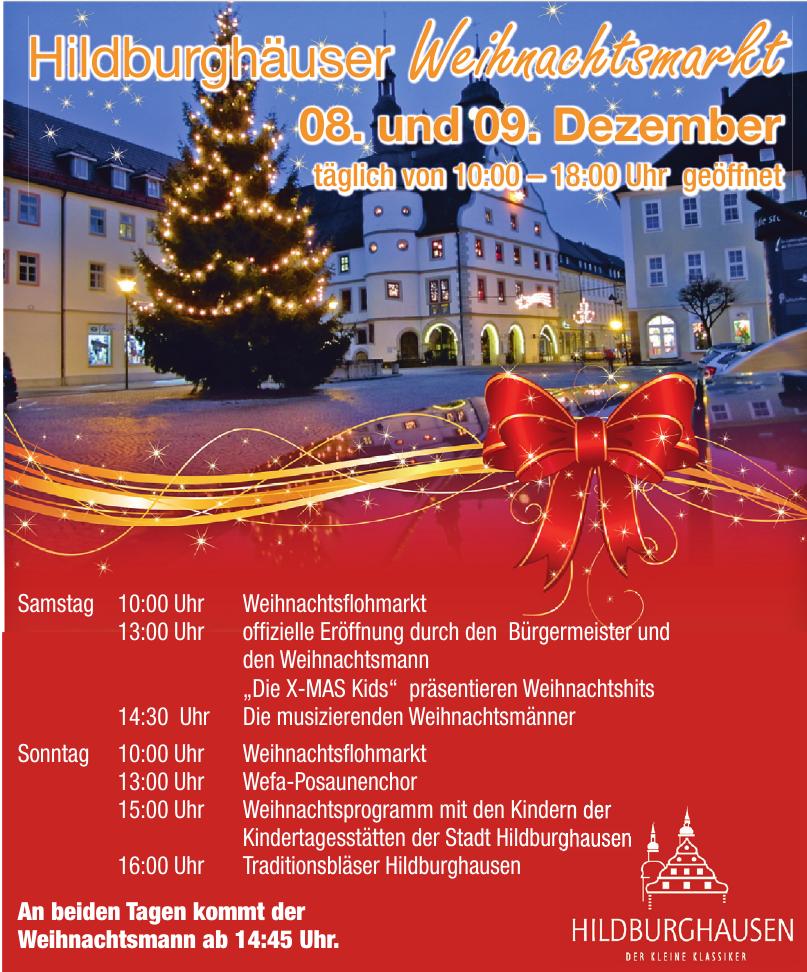 Hildburghäuser Weihnachtsmarkt
