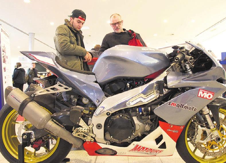 Einstimmen auf die neue Saison: Die große Motorradmesse im CongressPark Image 1
