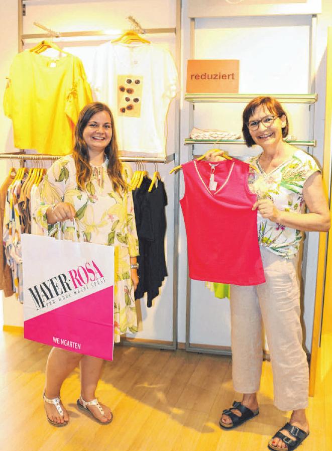 Ein Besuch im Modehaus Mayer-Rosa in der Karlstraße 7 - 9 in Weingarten lohnt sich. Foto: Mayer-Rosa