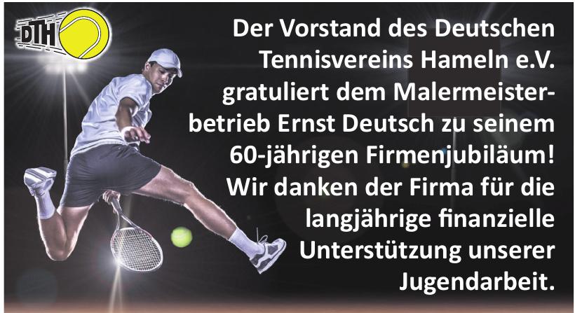 Deutschen Tennisvereins Hameln e.V.