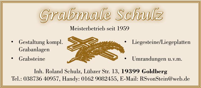 Grabmale Schulz