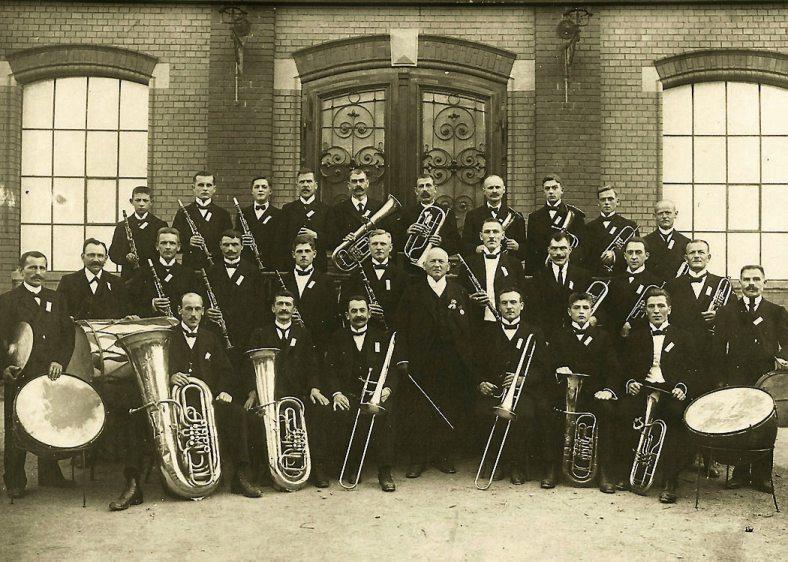 1921 unter der Leitung von Moritz Bengel