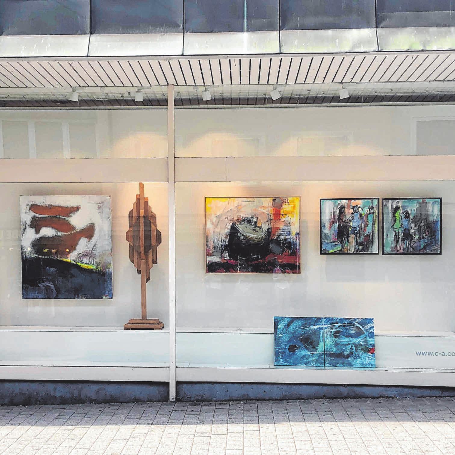 """Der Sommer in Ravensburg: Pop up! Kunst im Stadtraum """"Farbflecken"""" Image 3"""