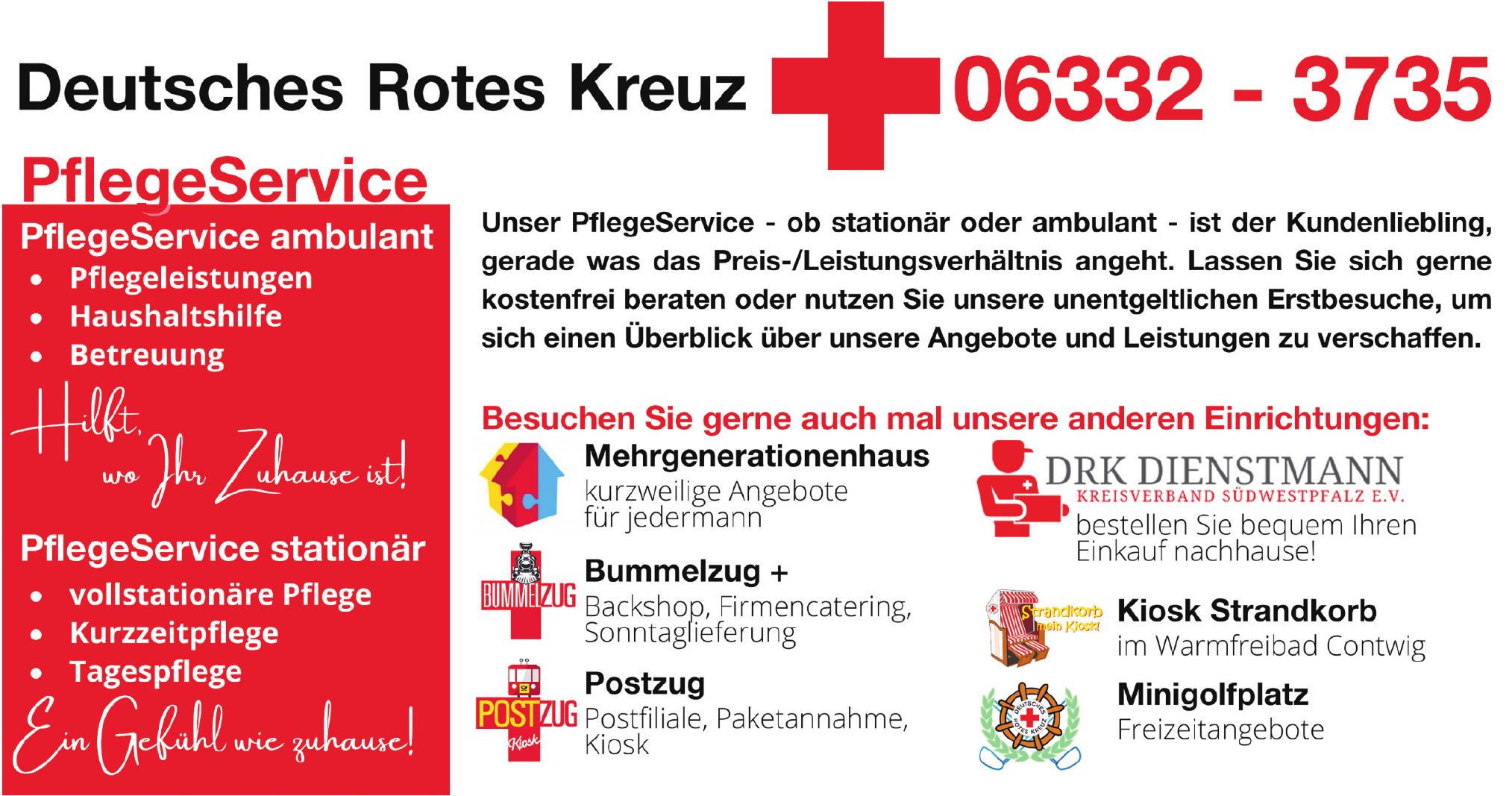 Deutusches Rotes Kreuz - Pflege Service