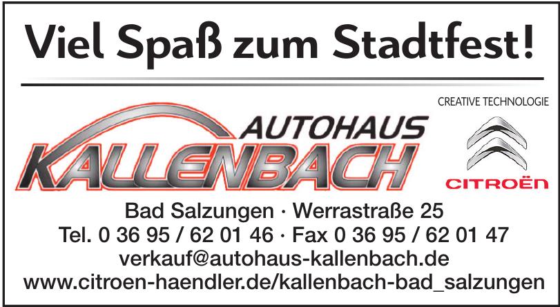 Autohaus Kallenbach