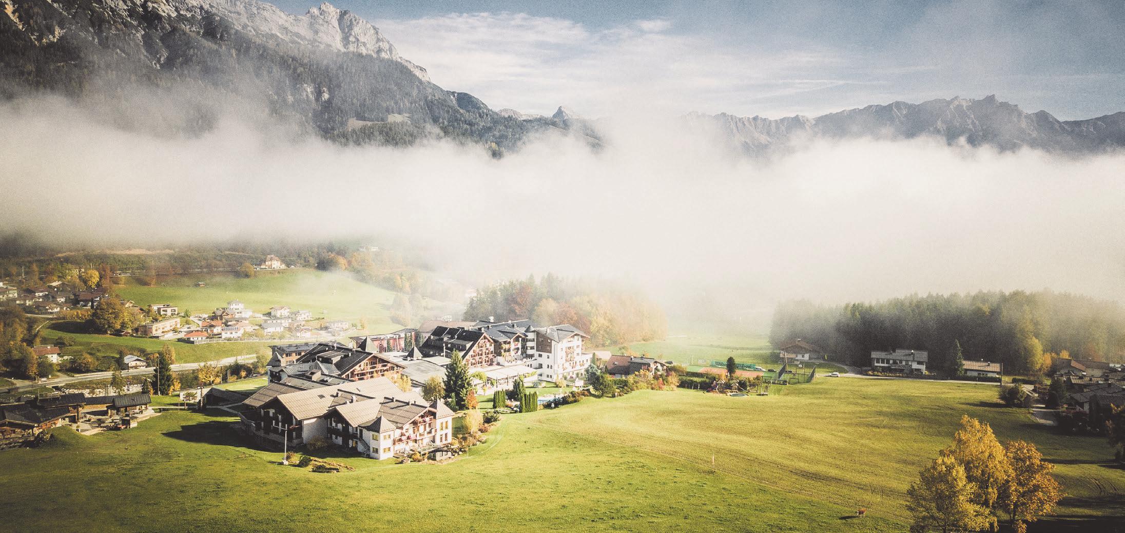 Traumlandschaft im Herbst. Foto: Krallerhof