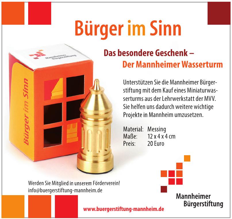 Mannheimer Bürgerstiftung