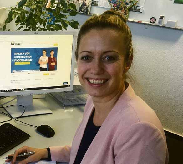 Claudia Alsleben, Mediaberaterin für den Stellenmarkt. Foto: Carolin Brinkmann