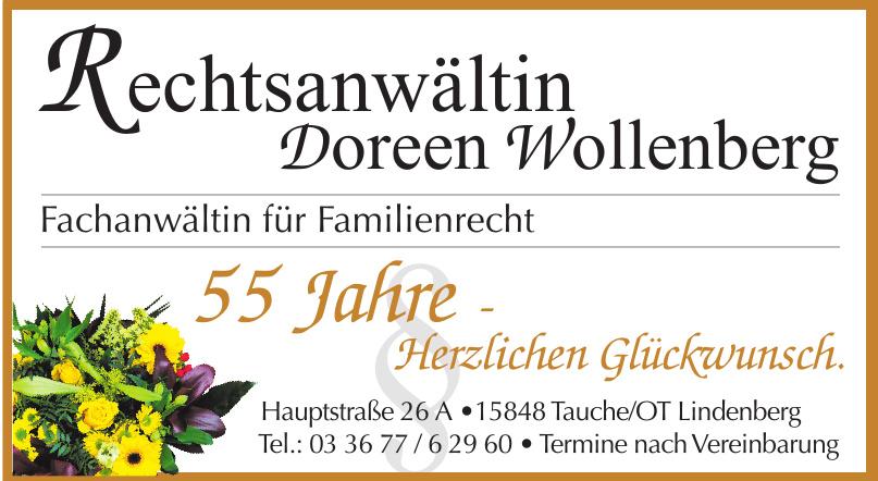 Rechtsanwältin Doreen Wollenberg