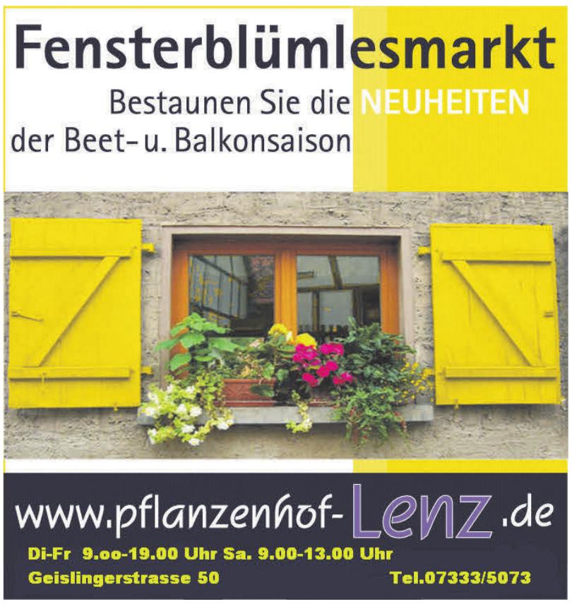 Pflanzenhof Lenz e.K. Inh. Gerd Fleischmann-Lenz
