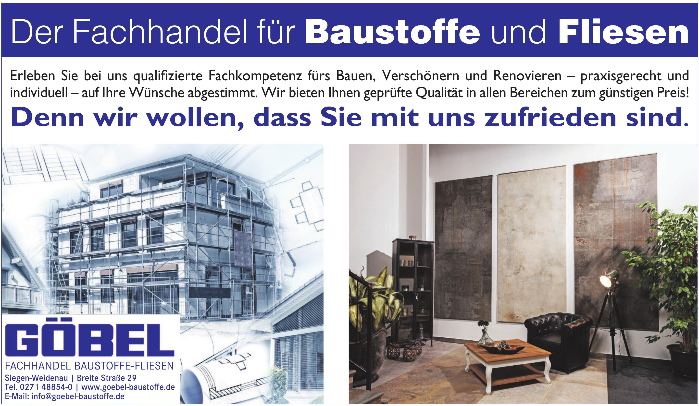 R. Göbel Baufachhandel GmbH