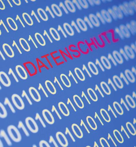Das neue Gesetz: Die Datenschutz-Grundverordnung sorgte für viel Wirbel. FOTO: DPA
