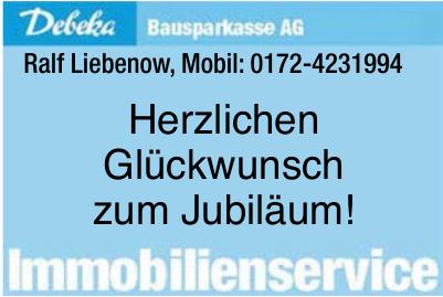 Bausparkasse AG - Ralf Liebenow