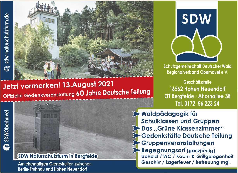 SDW Naturschutzturm in Bergfelde