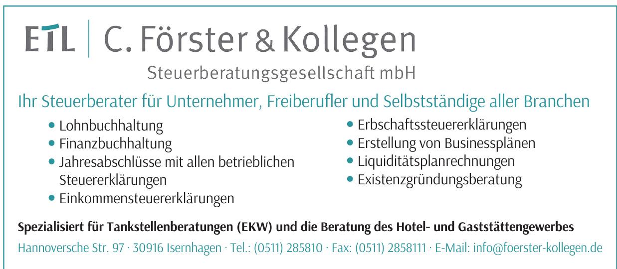 ETL C. Förster & Kollegen Steuerberatungsgesellschaft mbH