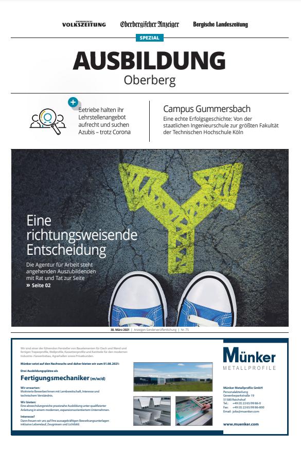 Ausbildung Oberberg