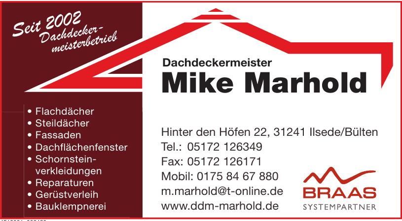 Mike Marhold Dachdeckermeister