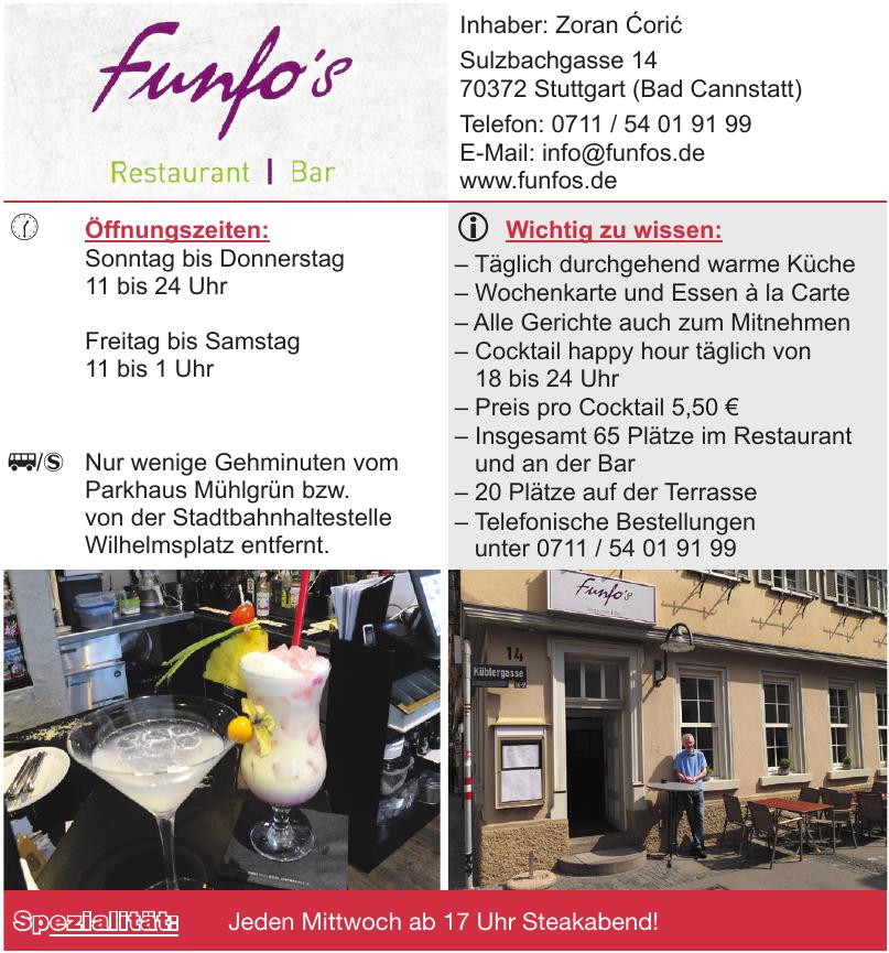 Funfo´s Restaurant | Bar