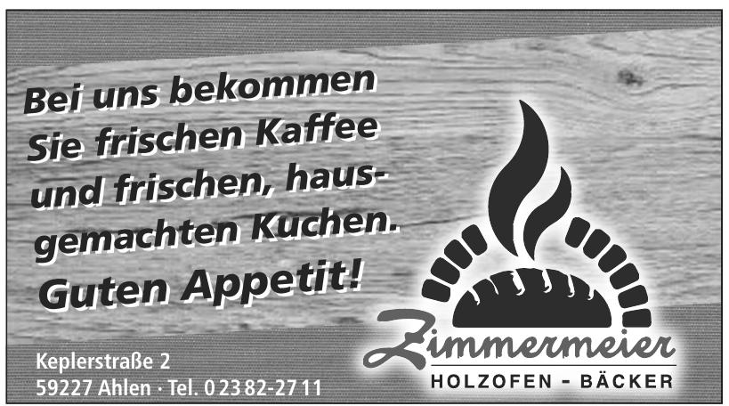 Zimmermeier Holzofen - Bäcker