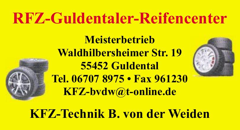 RFZ-Guldentaler-Reifencenter