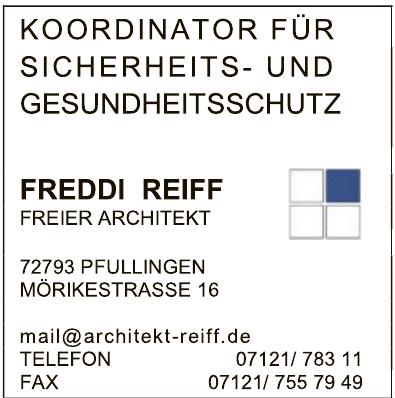 Freddi Reiff