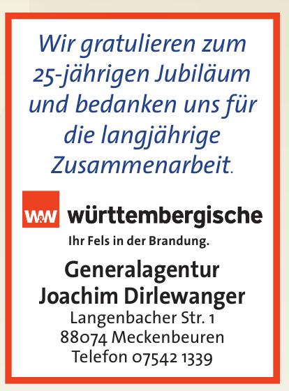 Generalagentur Joachim Dirlewanger