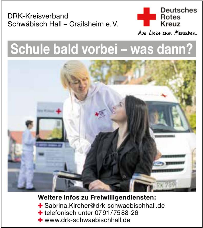 DRK-Kreisverband Schwäbisch Hall – Crailsheim e. V.