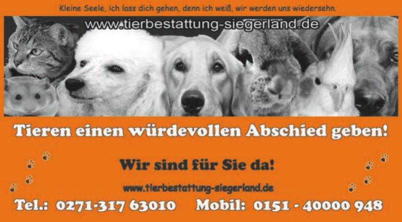 Tierbestattung Siegerland