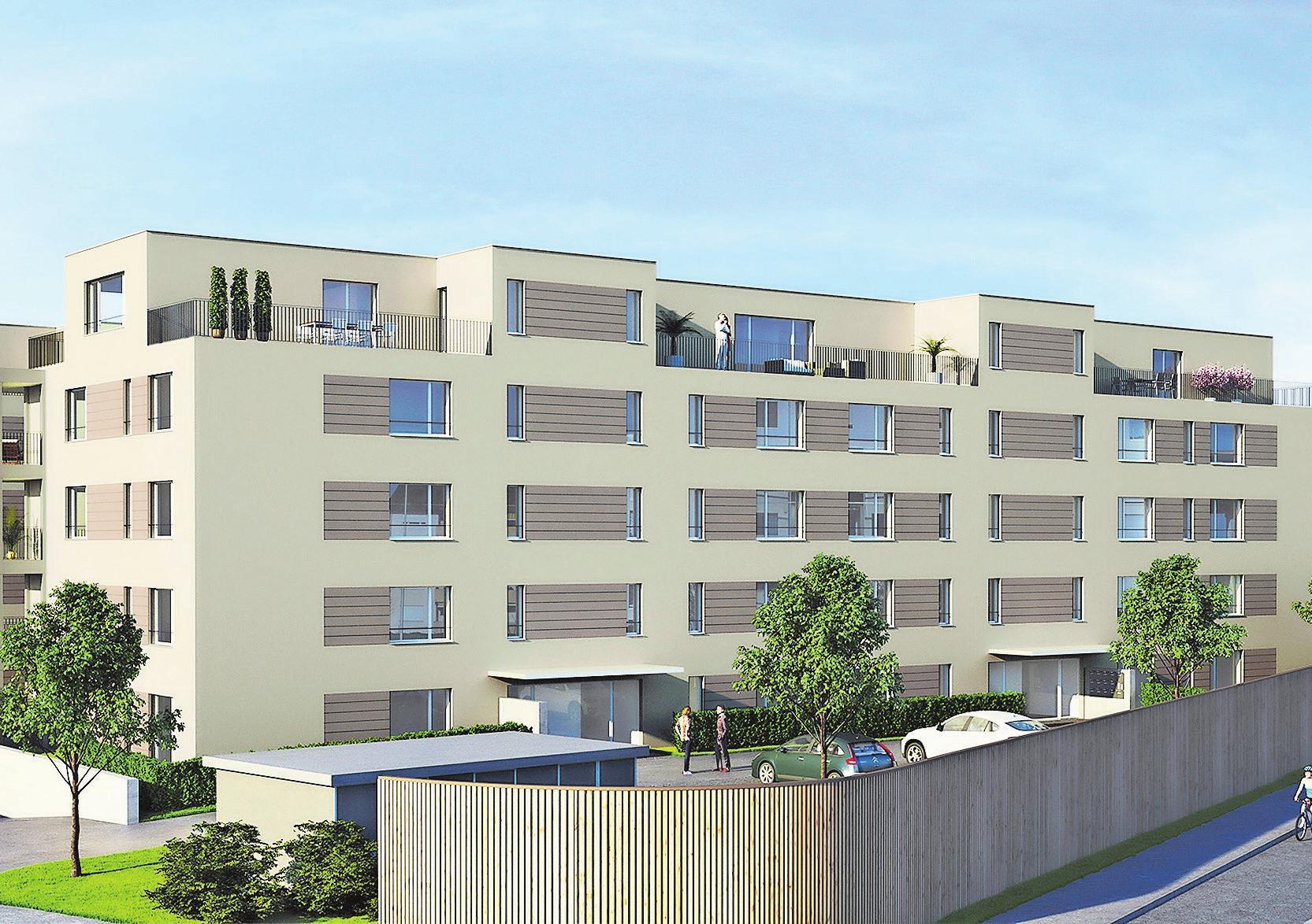 Die Gebäude sind modern gestaltet und verfügen über einen zeitgemässen Innenausbau. Bilder: PD