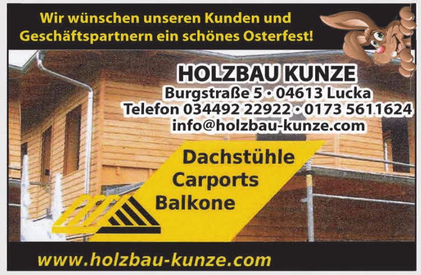 Holzbau Kunze