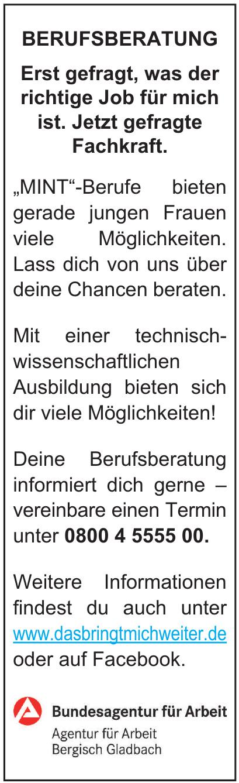Bundesagentur für Arbeit Bergisch Gladbach