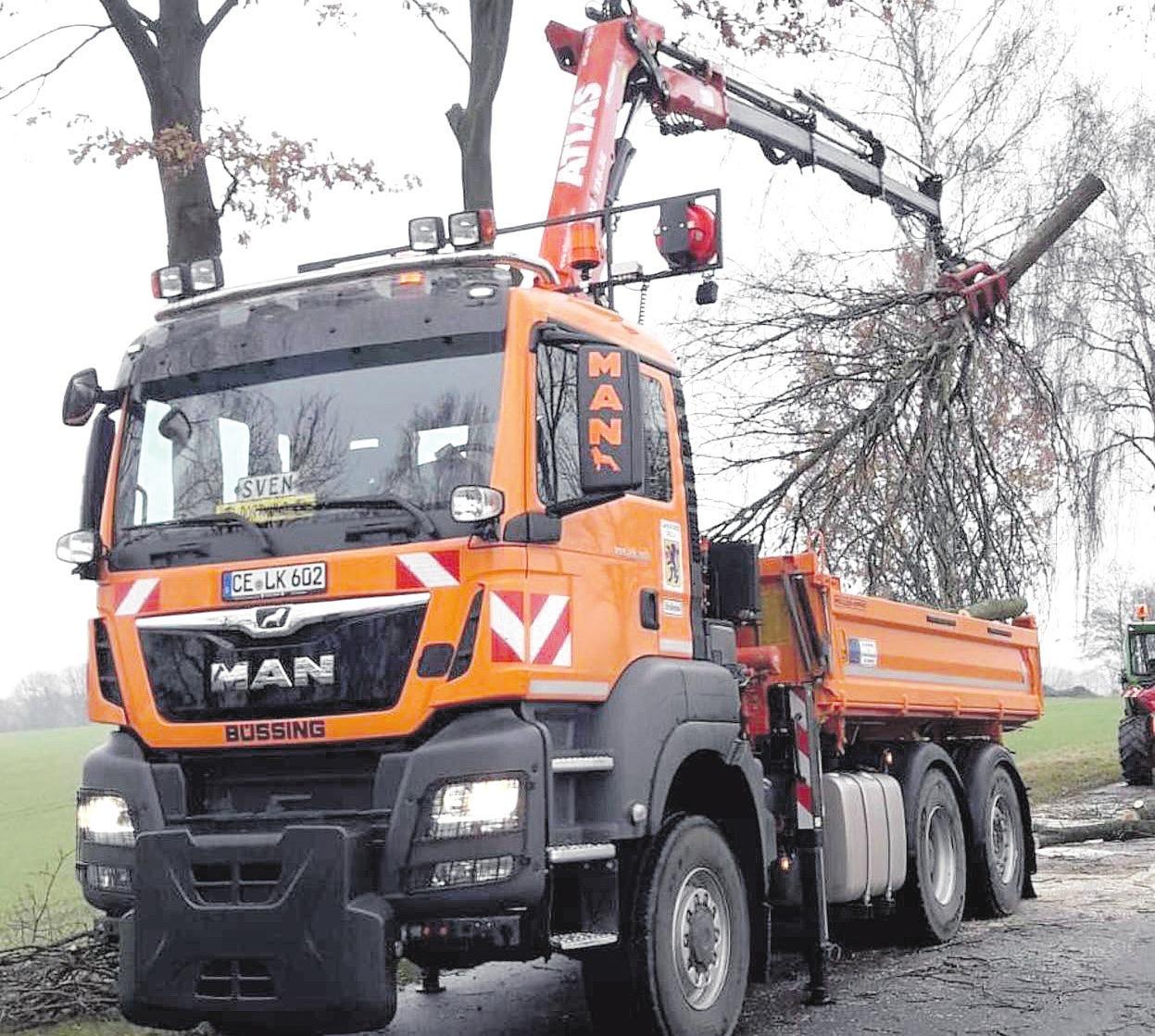 Das neue Fahrzeug. Foto: Landkreis Celle