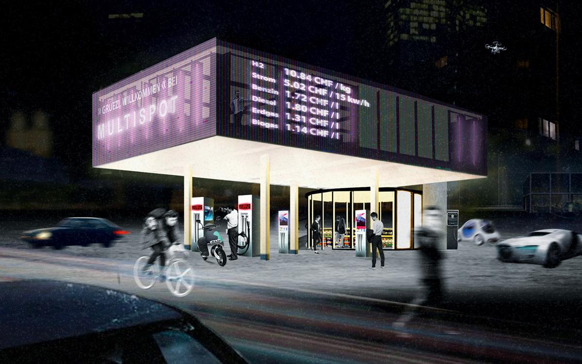 Die Tankstelle der Zukunft Image 3