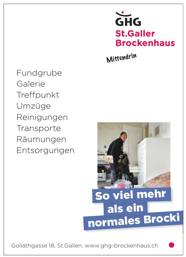 GHG St.  Galler Brockenhaus