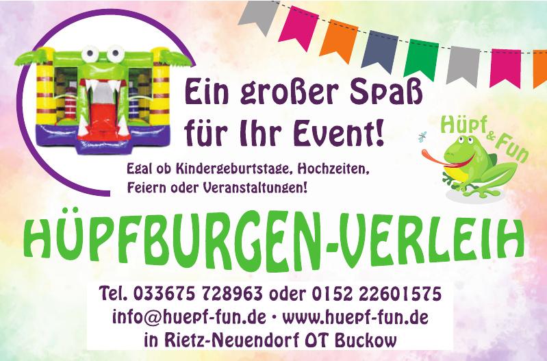 Hüpfburgen-Verleih