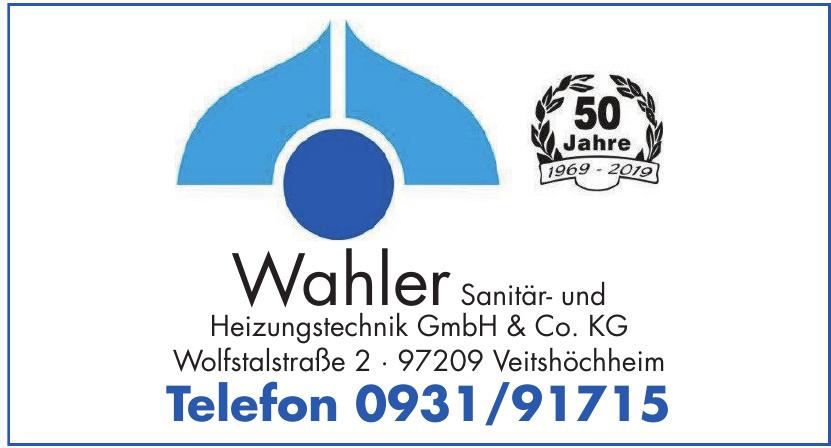 Wahler Sanitär- und Heizungstechnik GmbH & Co. KG