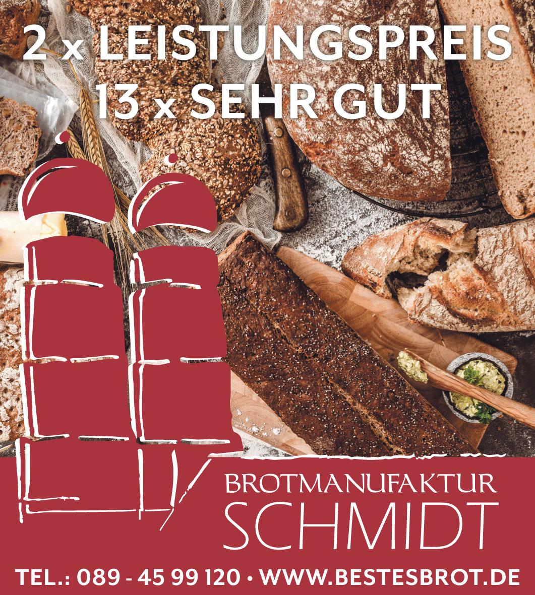 Brotmanufaktur Schmidt