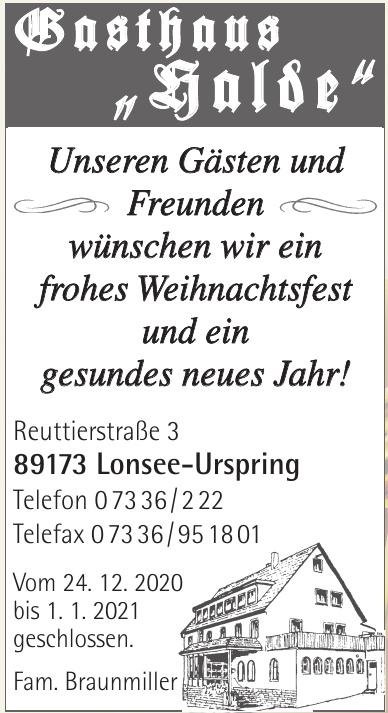 """Gasthaus """"Halde"""""""