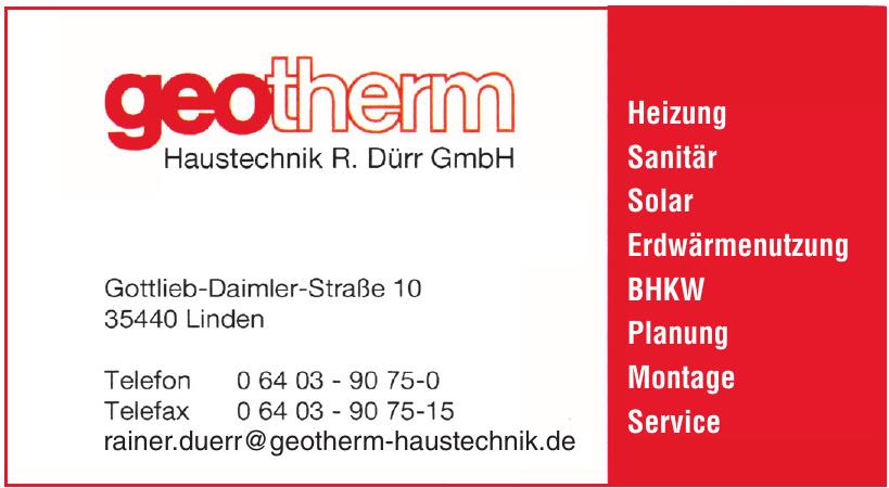 geotherm Haustechnik R. Dürr GmbH