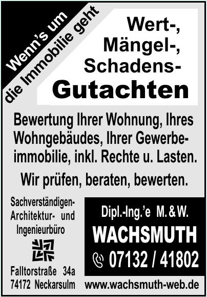 Dipl.-Ing.´e M. & W. Wachsmuth