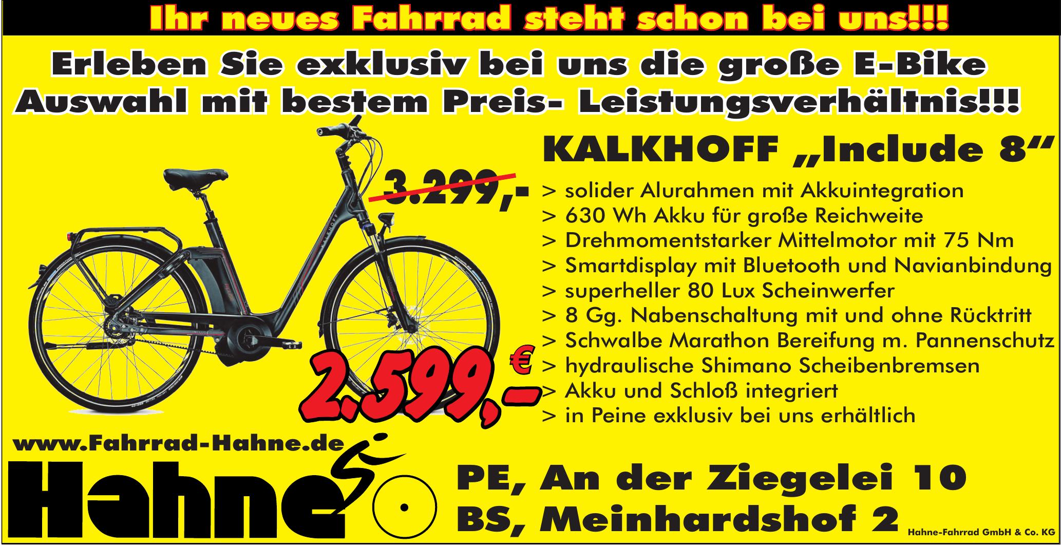 Fahrrad Hahne